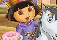 King Dora Puzzle Game